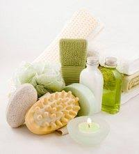 bathroom gift basket ideas bath and candle gift baskets lovetoknow