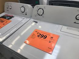 home depot washer black friday home depot top load washer or dryer only 299 99 save 100 00