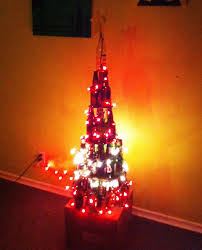 christmas christmas tree wine bottle with home image ideas how