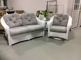 3 piece set reflections wicker collection by lloyd flanders