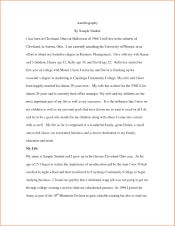 resume for student teachers exles of autobiographies sle autobiography of a college student tolg jcmanagement co
