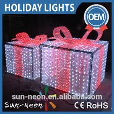 pre lit christmas gift boxes commercial pre lit led outdoor led christmas gift box decorative