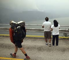 Wild Fire Columbia Gorge by Wildfire Weary Western Us Coughs Through Late Season Surge
