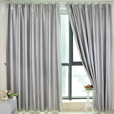Light Silver Curtains 100 Blockout Curtain Block Light Black Out Curtain Cloth Car