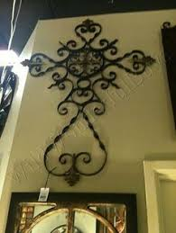 wall decor crosses beautiful picture frame wrought iron crafts