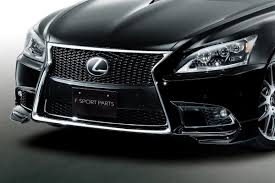 lexus trd trd launches new styling parts for latest lexus ls f sport in japan