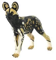 Safari Ltd African Wild Dog   amazon com safari ltd wild safari wildlife african wild dog toys
