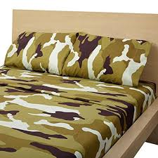 Army Bed Set Camouflage Bed Sheets