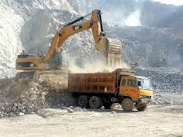 construction equipment large excavator production study proves