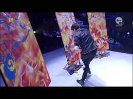 magical speed painter amazing got talent star full youtube