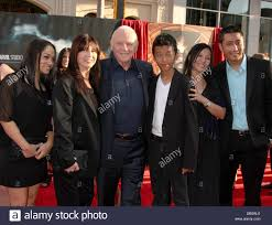 Hopkins Carpet Stella Arroyave With Anthony Hopkins And Family Los Angeles