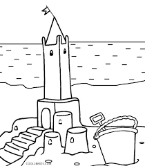 printable castle coloring pages kids cool2bkids