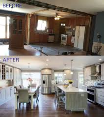 how to make an open concept kitchen before and after of this beautiful open concept kitchen the