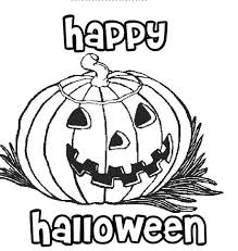 happy halloween pumpkin coloring pages printable free template