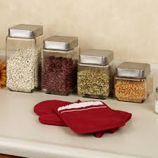 4 kitchen canister sets rustic kitchen kitchen appealing canister sets for kitchen