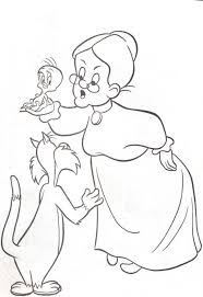 sylvester coloring pages kids coloring