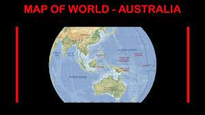 Map Of Globe Info Map Of World Australia Maps New Zone