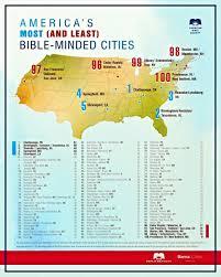 Usa Map Cities by Bible Belt Pocket Press Bible Belt Pocket Press Unchurched Belt