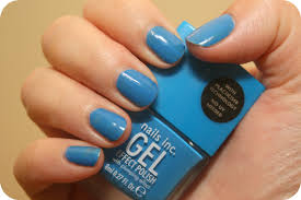 nails inc gel effect polish in mercer street make up monster
