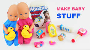 how to make doll baby items doll crafts simplekidscrafts youtube