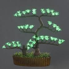 led mini tree light green color gdst 012