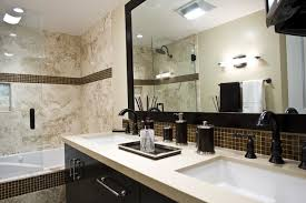nice mosaic tile framed bathroom mirror for your home decor ideas