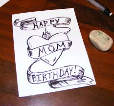 birthday card ideas for mom u2013 gangcraft net