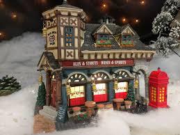 Fresh Cut Christmas Trees At Menards by Big Ben Pub 2012 Christmas Village From Lemax