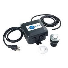 Insinkerator Dual Outlet Sinktop Switch Kit For Insinkerator Garbage