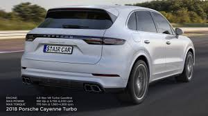 Porsche Cayenne Specs - 2018 porsche cayenne turbo drive sound specifications youtube