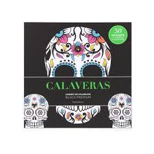 Coloriage Black Premium  calaveras French Edition  DeSerres