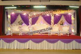 muslim wedding decorations muslim wedding stage set carriages buggy