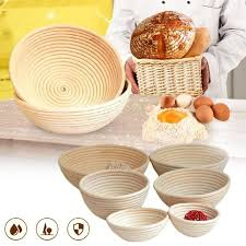 country baskets rattan basket dough banneton brotform bread proofing
