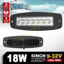 6 inch light bar china mini 6 inch led light bar flush mount 18w offroad led bar for