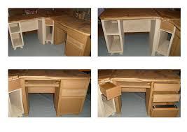 bureau palette bois fabriquer un bureau en bois avec bureau en palette de bois bureau en