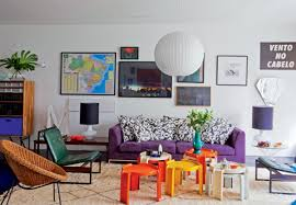 Colorful Living Room Inspirations  Adorable Home - Colorful living room