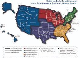 Map Of Southwest Usa States by Gc2016 Remaking The Denomination U0027s Map The United Methodist Church