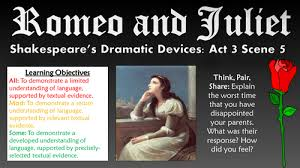 Romeo And Juliet Shakespeare S Dramatic Devices By Tandlguru Romeo And Juliet Powerpoint Template