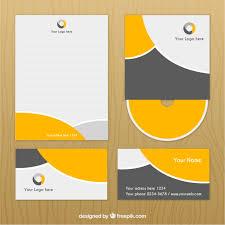 corporate identity design vector free - Coorporate Design