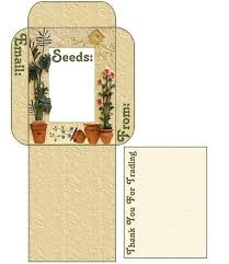 seed envelopes seed saving use these free seed envelope packet templates