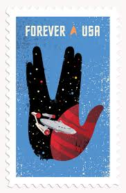 the heads of state star trek postage stamps