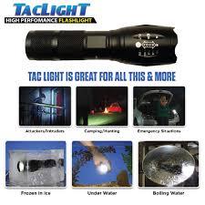 tac light flash light tac light military grade tactical flashlight multifunc tion