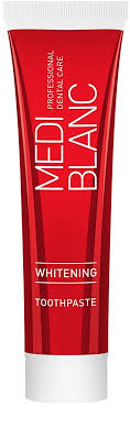 toothpaste whitening mediblanc whitening toothpaste with whitening effect notino co uk
