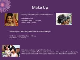Wedding Makeup Packages Naturals Salon Beauty And Style Redefined