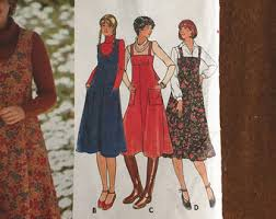 jumper dress pattern etsy
