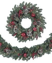 artificial christmas wreaths sequoia fir prelit commercial wreath