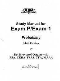 asm soa exam p 14ed pdf