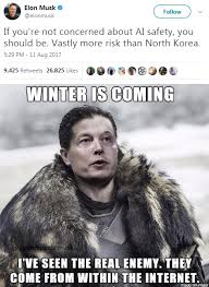 Ai Meme - elon musk warns about the dangers of ai elon musk know your meme