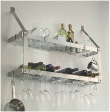 kitchen stunning stainless steel floating kitchen shelves with