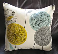 blue and yellow pillows throw pillow teal blue green mustard